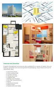 sun residences - studio type