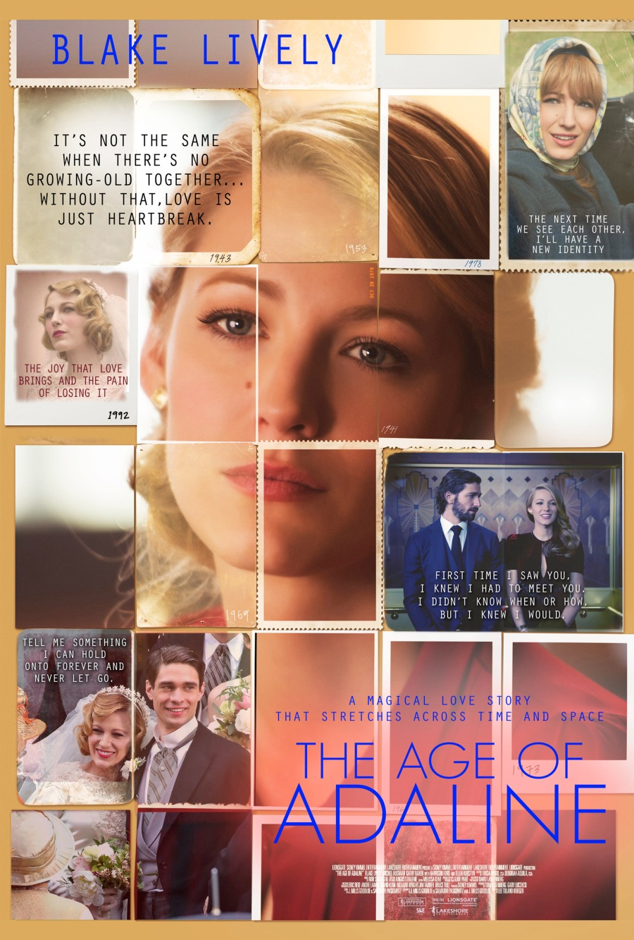 AGE OF ADALINE poster