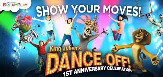 dreamplay king julien dance off