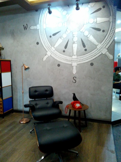 #PSIDEvolution Booth 6. Charles Eames Inspired Study/Library